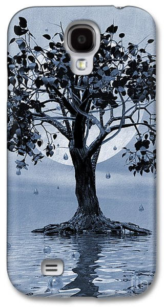Torn Galaxy S4 Cases - The Tree that Wept a Lake of Tears Galaxy S4 Case by John Edwards