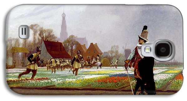 Gerome Galaxy S4 Cases - The Tulip Folly Galaxy S4 Case by Jean-Leon Gerome