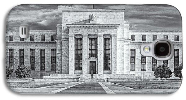 Enterprise Galaxy S4 Cases - The US Federal Reserve Board Building Galaxy S4 Case by Susan Candelario