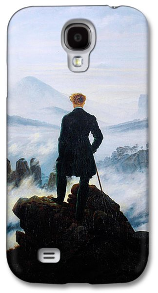 Recently Sold -  - Sunset Abstract Galaxy S4 Cases - The Wanderer Above the Sea of Fog Galaxy S4 Case by Caspar David Friedrich
