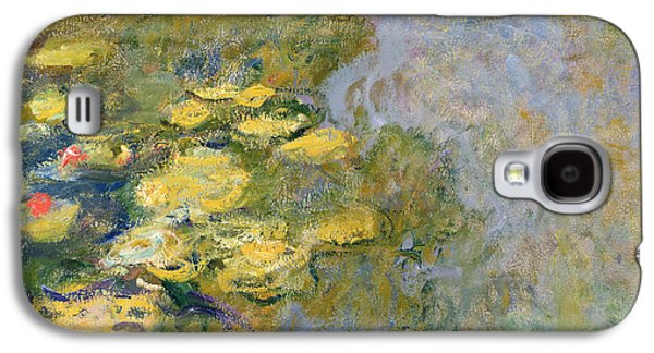 The Waterlily Pond Galaxy S4 Case by Claude Monet