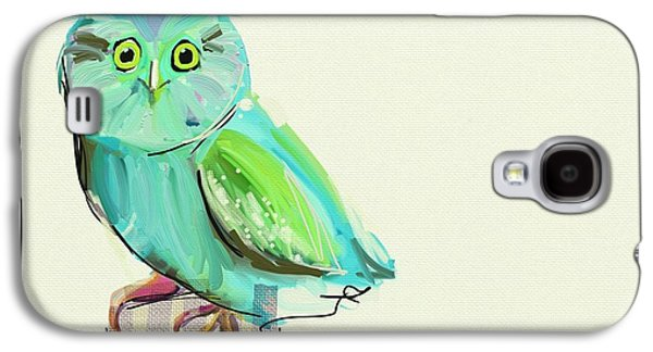 Child Galaxy S4 Cases - This little guy Galaxy S4 Case by Cathy Walters