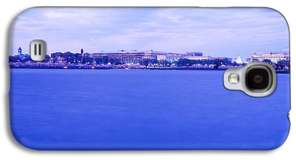 Landmarks Photographs Galaxy S4 Cases - Tidal Basin Washington Dc Galaxy S4 Case by Panoramic Images
