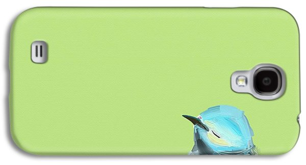 Sadness Paintings Galaxy S4 Cases - Todays Bird Galaxy S4 Case by Cathy Walters