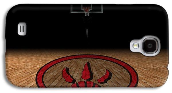 Raptors Galaxy S4 Cases - Toronto Raptors Galaxy S4 Case by Joe Hamilton