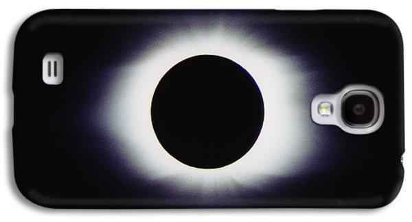 Solar Eclipse Galaxy S4 Cases - Total Solar Eclipse Galaxy S4 Case by John Chumack