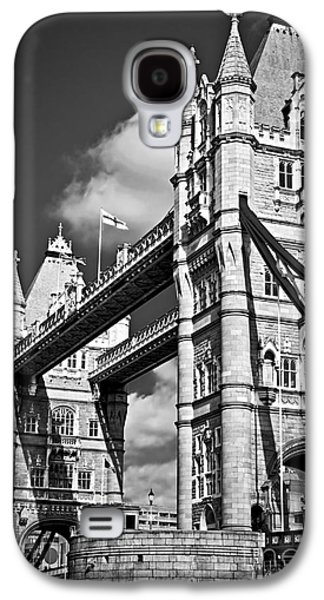 Tower Photographs Galaxy S4 Cases - Tower bridge in London Galaxy S4 Case by Elena Elisseeva