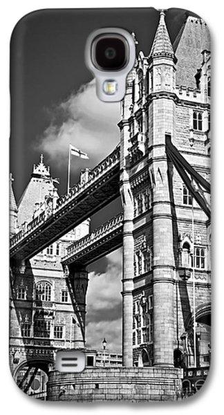 Ancient Galaxy S4 Cases - Tower bridge in London Galaxy S4 Case by Elena Elisseeva