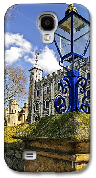 Early Spring Galaxy S4 Cases - Tower of London Galaxy S4 Case by Elena Elisseeva