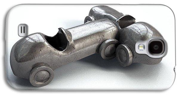 Toy Car Collision Galaxy S4 Case by Allan Swart