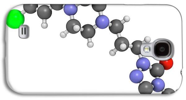 Trazodone Antidepressant Drug Molecule Galaxy S4 Case by Molekuul