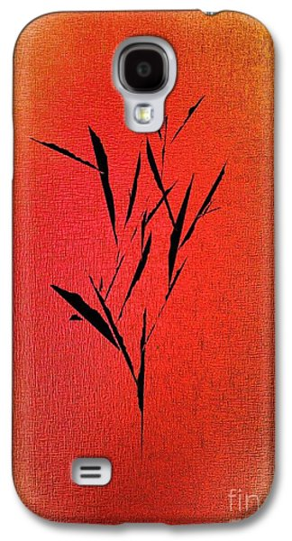 Digital Abstract Drawings Galaxy S4 Cases - Tree Galaxy S4 Case by John Krakora
