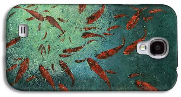 Fish Pond Galaxy S4 Cases - Troppi Per Contarli Galaxy S4 Case by Guido Borelli
