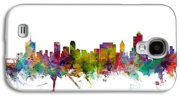 Tulsa Oklahoma Skyline Galaxy S4 Case by Michael Tompsett