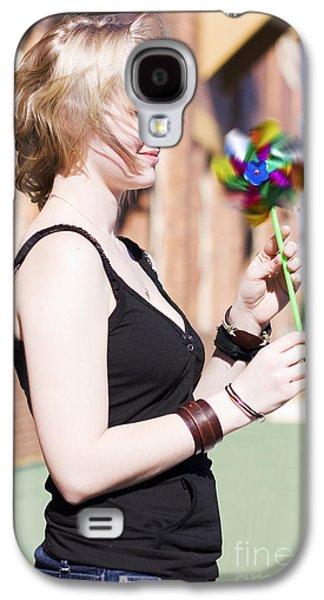Twirling Toy Turbine Galaxy S4 Case by Jorgo Photography - Wall Art Gallery