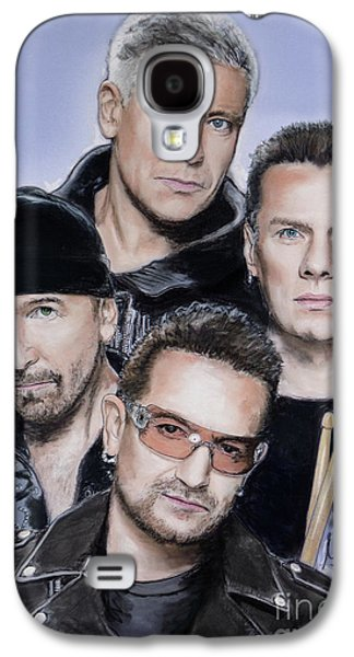 Bono Galaxy S4 Cases - U2 Galaxy S4 Case by Melanie D