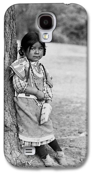 Braids Galaxy S4 Cases - Umatilla girl circa 1910 Galaxy S4 Case by Aged Pixel