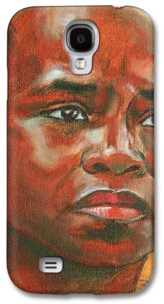 African-american Galaxy S4 Cases - Uncertainty Galaxy S4 Case by Xueling Zou