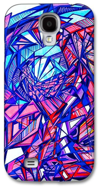 Abstract Digital Drawings Galaxy S4 Cases - Untitle Galaxy S4 Case by The Door Project