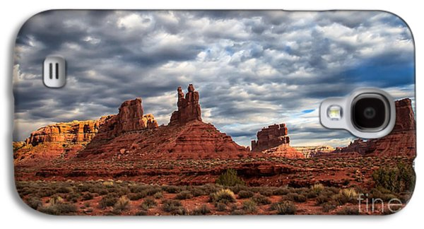 Scenic Drive Galaxy S4 Cases - Valley Of The Gods II Galaxy S4 Case by Robert Bales