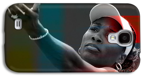 Venus Williams Galaxy S4 Case by Marvin Blaine