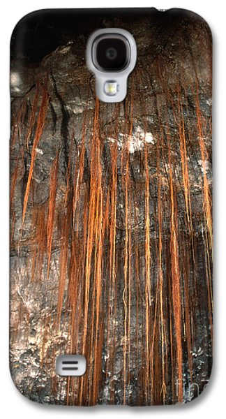 Tree Roots Galaxy S4 Cases - View Inside Kaumana Lava Tube, Hawaii Galaxy S4 Case by Gregory G. Dimijian, M.D.