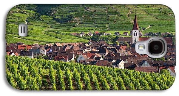 Village Of Ammerschwihr Surrounded Galaxy S4 Case by Brian Jannsen