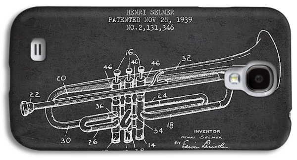 Vinatge Trumpet Patent From 1939 Galaxy S4 Case by Aged Pixel