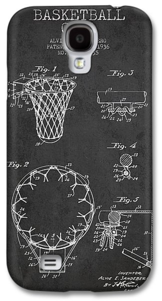 Vintage Basketball Goal Patent From 1936 Galaxy S4 Case by Aged Pixel