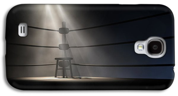 Fight Digital Art Galaxy S4 Cases - Vintage Boxing Corner And Stool Galaxy S4 Case by Allan Swart