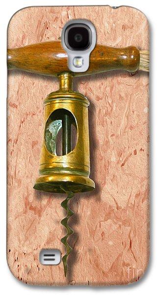 Chinnock Corkscrew Circa 1862  Painting Galaxy S4 Case by Jon Neidert