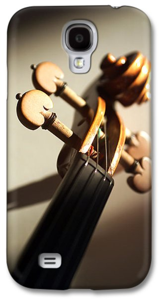 Hanging Galaxy S4 Cases - Violin XII Galaxy S4 Case by Jon Neidert