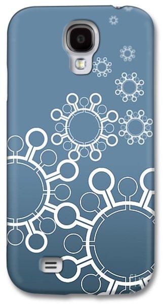 Pathogen Galaxy S4 Cases - Virus Particles, Conceptual Artwork Galaxy S4 Case by Robert Brocksmith