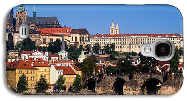Vltava River, Prague, Czech Republic Galaxy S4 Case by Panoramic Images