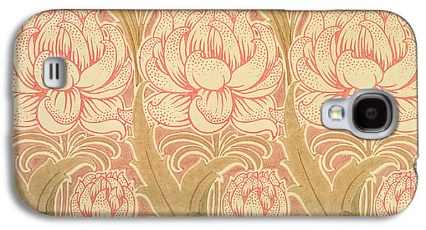 Light Tapestries - Textiles Galaxy S4 Cases - Wallpaper design Galaxy S4 Case by Victorian Voysey