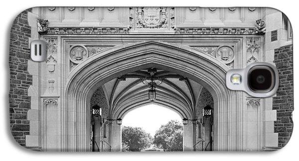 Washington University Brookings Hall Galaxy S4 Case by University Icons