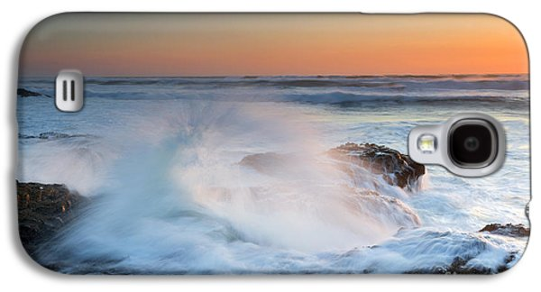 Exploding Galaxy S4 Cases - Ocean Dance Galaxy S4 Case by Mike  Dawson