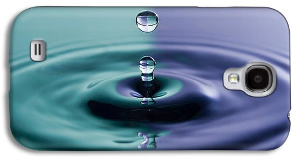 Colorful Abstract Galaxy S4 Cases - Water drop Galaxy S4 Case by Gyorgy Kotorman