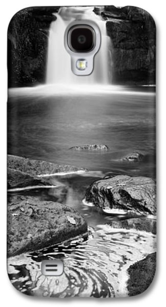 Autumn Leaf On Water Galaxy S4 Cases - Waterfall In A Forest, Thomason Foss Galaxy S4 Case by Panoramic Images