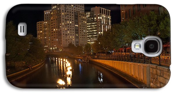 Installation Art Galaxy S4 Cases - WaterFire.  Providence Rhode Island Galaxy S4 Case by Juli Scalzi