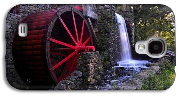 Sudbury Ma Galaxy S4 Cases - Wayside Inn Grist Mill Galaxy S4 Case by Toby McGuire