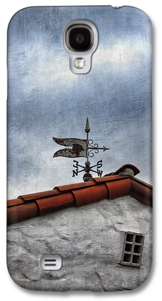 Weathervane Galaxy S4 Cases - Weathered Weathervane Galaxy S4 Case by Carol Leigh
