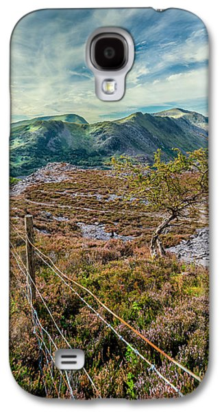 North Wales Digital Art Galaxy S4 Cases - Welsh Mountains Galaxy S4 Case by Adrian Evans