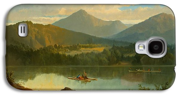 Beautiful Galaxy S4 Cases - Western Landscape Galaxy S4 Case by John Mix Stanley