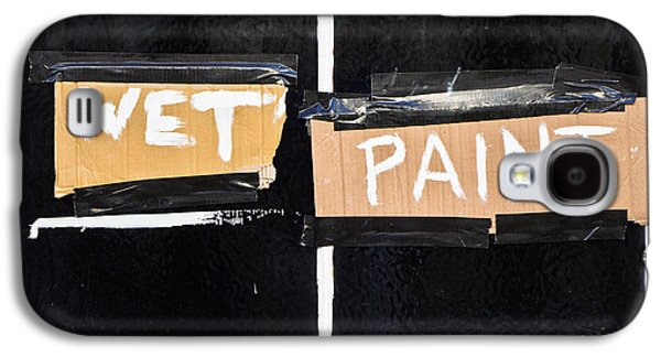 Cardboard Galaxy S4 Cases - Wet paint Galaxy S4 Case by Tom Gowanlock
