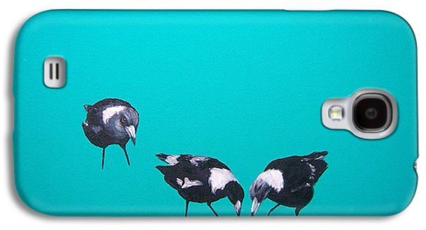 What About Me Galaxy S4 Case by Jan Matson