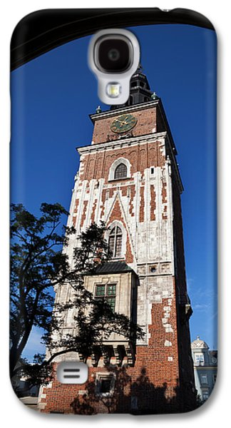 Town Square Galaxy S4 Cases - Wieza Ratuszowa, The 13th Century Town Galaxy S4 Case by Panoramic Images