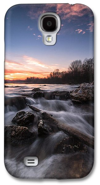 Landscapes Photographs Galaxy S4 Cases - Wild river Galaxy S4 Case by Davorin Mance