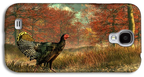 Wild Turkey Galaxy S4 Cases - Wild Turkey Galaxy S4 Case by Daniel Eskridge