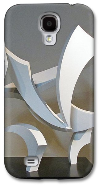 Abstract Movement Sculptures Galaxy S4 Cases - Wind Galaxy S4 Case by John Neumann